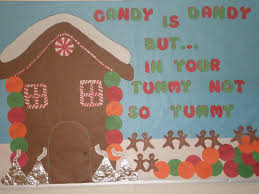 gingerbread house bulletin board ideas. Contemporary Board Healthy Christmas Christmas Image For Gingerbread House Bulletin Board Ideas B