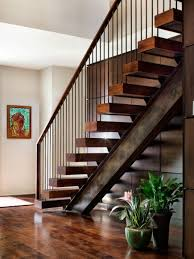Best Open Riser Steel And Wood Stair Design Ideas Remodel Metal And Wood  Staircase