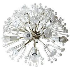 semi flush mount sputnik light vintage chandelier by for at 1