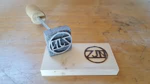 picture of aluminum branding iron