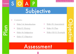 Subjective Objective Assessment Planning Note Delectable SOAP Noting System