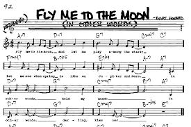 Frank Sinatra Fly Me To The Moon Piano Sheet Music Free