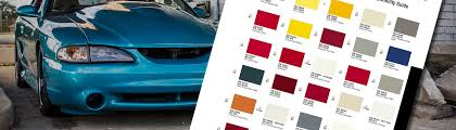 mustang paint codes mustang color codes cj pony parts mustang paint codes