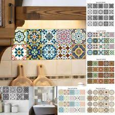 us 20pcs adhesive tile wall stickers self mosaic decal vinyl diy art room decor on camo wall art self stick with tile stickers ebay