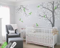 tree wall decal nursery with branch