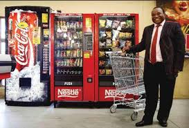 Nestle Vending Machine Custom PR VENDING PTYLTD The Lion Of Vending