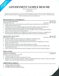 Federal Resume Template Adorable Usajobs Resume Format Awesome 40 Elegant Federal Resume Template
