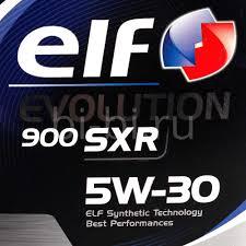 <b>Масло моторное ELF EVOLUTION</b> 900 SXR 5W30 синтетика 5 л