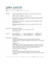 clean resume template and get inspiration to create a good resume 7 - Clean  Resume Template