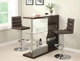 contemporary bar furniture. Contemporary Bar Sets Coaster Units And Tables Sleek Set With Stools Fine Furniture Table N