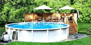 diy pool deck building decorating ideas