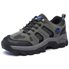 <b>Men's Durable Breathable Outdoor</b> Hiking Shoes Lace-up Sale ...