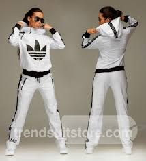 Light Blue Adidas Tracksuit Womens Adidas Sporty Outfits Adidas Jumpsuit Sport Outfits