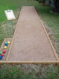 your court is complete you can find bocce ball