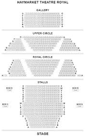 Theatre Royal Newcastle Seating Chart Theatre Royal Haymarket Seating Plan For Only Fools And