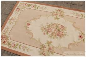 pretentious shabby chic area rugs marvelous french 3x5 needlepoint in plans 0