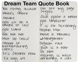 Dream Team Quotes Best of Quotes About Dream Team 24 Quotes