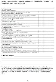 Customer Satisfaction Survey Template Excel It Customer Satisfaction Survey Template
