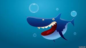 Cartoon Shark Wallpapers - Wallpaper Cave