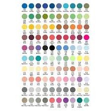 Chartpak Set Of 100 Assorted Ad Markers