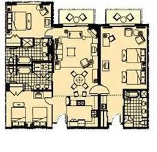 Marina Inn At Grande Dunes: 3 Bedroom Suite Floor Plan