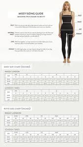 Maggy London Size Chart Matter Of Fact London Dress Company Size Chart 2019