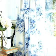 White And Blue Curtains Blackout Navy Drapes Uk – Chann