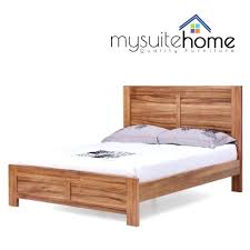 Beds:Buy Solid Wood Beds Online India Platform Bed For Sale King Size Rustic  Headboard
