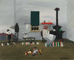 horace pippin turned to art after serving in world war i in the african american regiment known as the harlem fighters pippin was shot by a sniper and