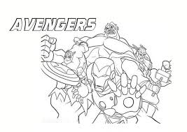 The Avengers Da Colorare Cose Per Crescere