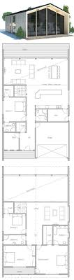 Modern Four Bedroom House Plans Contemporry House To Narrow Lot Modern Architecture Floor Plan