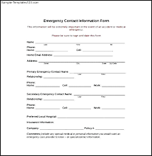 Template Company Contact Information Specialization
