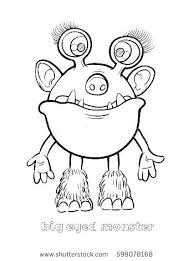 Funny Monster Coloring Pages Funny Monster Coloring Pages Funny