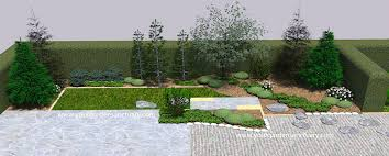 Outdoors  Gorgeous Japanese Garden With Bamboo Fence And Small Japanese Backyard Garden
