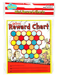 Eureka Dr Seuss Cat In The Hat Mini Reward Charts With