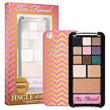 too faced limited edition jingle all the way makeup palette iphone 5 case 96 00