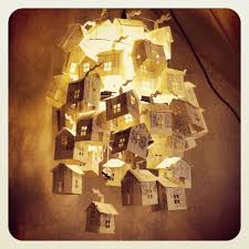 this beautiful creation is made from an old cook book the light also create interesting shadows hutch studio