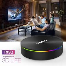 NEWEST T95Q ANDROID TV BOX 8.1 4K ULTRA HD 4GB 64GB DUAL WIFI (New loaded )  Jailbroken for Sale in Fort Lauderdale, FL - OfferUp