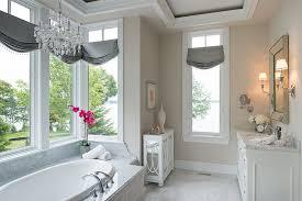 chandelier over tub