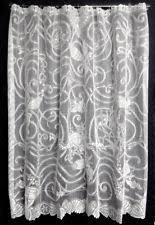 white lace shower curtain. New Canyon Creek Fish Fantasy White Lace Shower Curtain