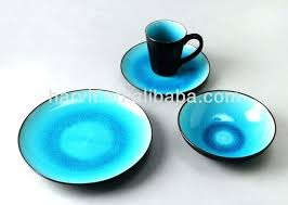blue depression glass dinnerware sets cobalt green le tableware stoneware home improvement marvelous tab plate set
