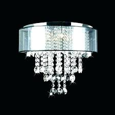 flush mount mini chandeliers chandelier 4 light or free semi abovesearch