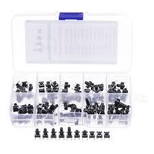 <b>100pcs</b> 10 models 6x6 tact switch tactile <b>push button</b> switch kit ...