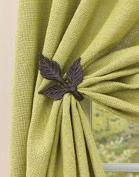 Designer Curtain Tie Backs Park Designs Birch Wood Curtain Tie Backs 2 Piece 21 234