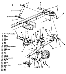 Leaf spring rear suspension diagram labels wiring diagram