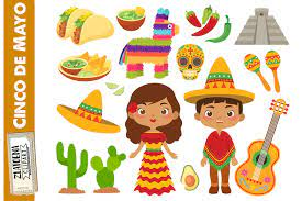 Mexican Clip Art Cinco De Mayo Mexico ...