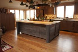hand crafted rustic kitchen island by atlas stringed instruments custommade com