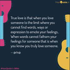 Finding Love Quotes Unique True love is that when yo Quotes Writings by rn YourQuote