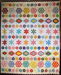 hexagon quilt patterns | What Are Quilters Blogging About Today ... & The Proficient Needle: HEXAGON FRIDAY Adamdwight.com