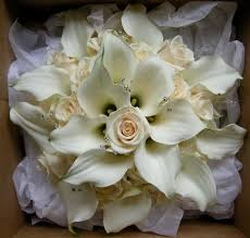 wedding flowers collection rose calla lily wedding bouquets for